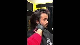 Adamın Saçı Yaktık Olay Oldu