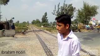 Pakistan Railway gujrat near shehbaaz shareef park ZCU high speed