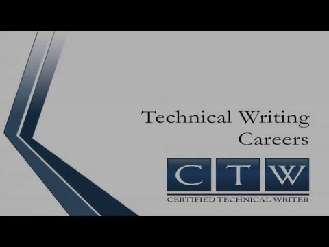 Certified Technical Writer - Technical Writing Careers