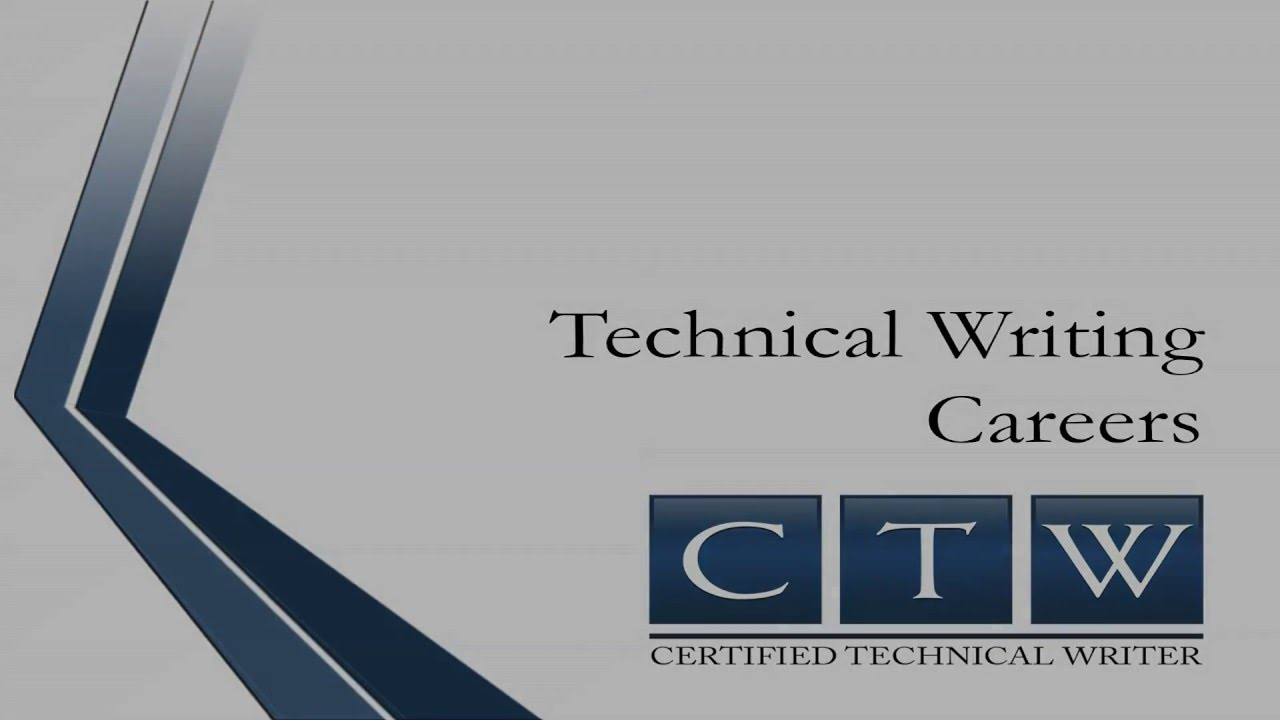 certified technical writer technical writing careers certified technical writer technical writing careers