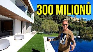 Americká Vila - 6 Ložnic a 11 Koupelen Za 300 Milionů Korun