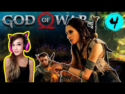 The Witch & Her Pig Friend - God of War Part 4 - Tofu Plays