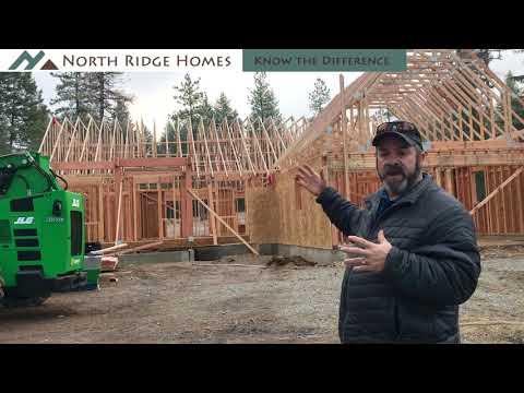 Custom Homes Series - Episode 25: Truss Installation