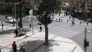 Air Raid Siren in Jerusalem as Israel Prepares for Missile Strikes