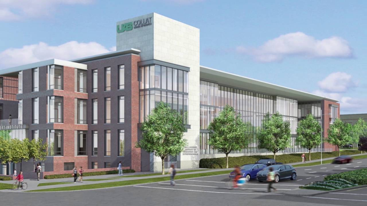 Image result for new collat school of business building