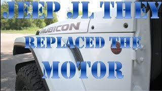 UPDATE On JEEP JL Unlimited Rubicon REPLACEMENT AUGUST 9th