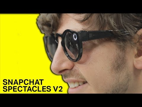 aa93874b7 Snapchat launches Spectacles V2, camera glasses you'll actually wear |  TechCrunch