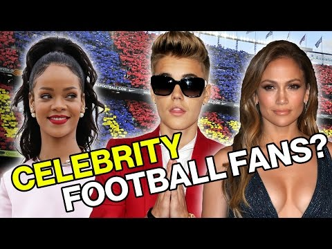 Which Celebrity Fans Support Your Football Team?