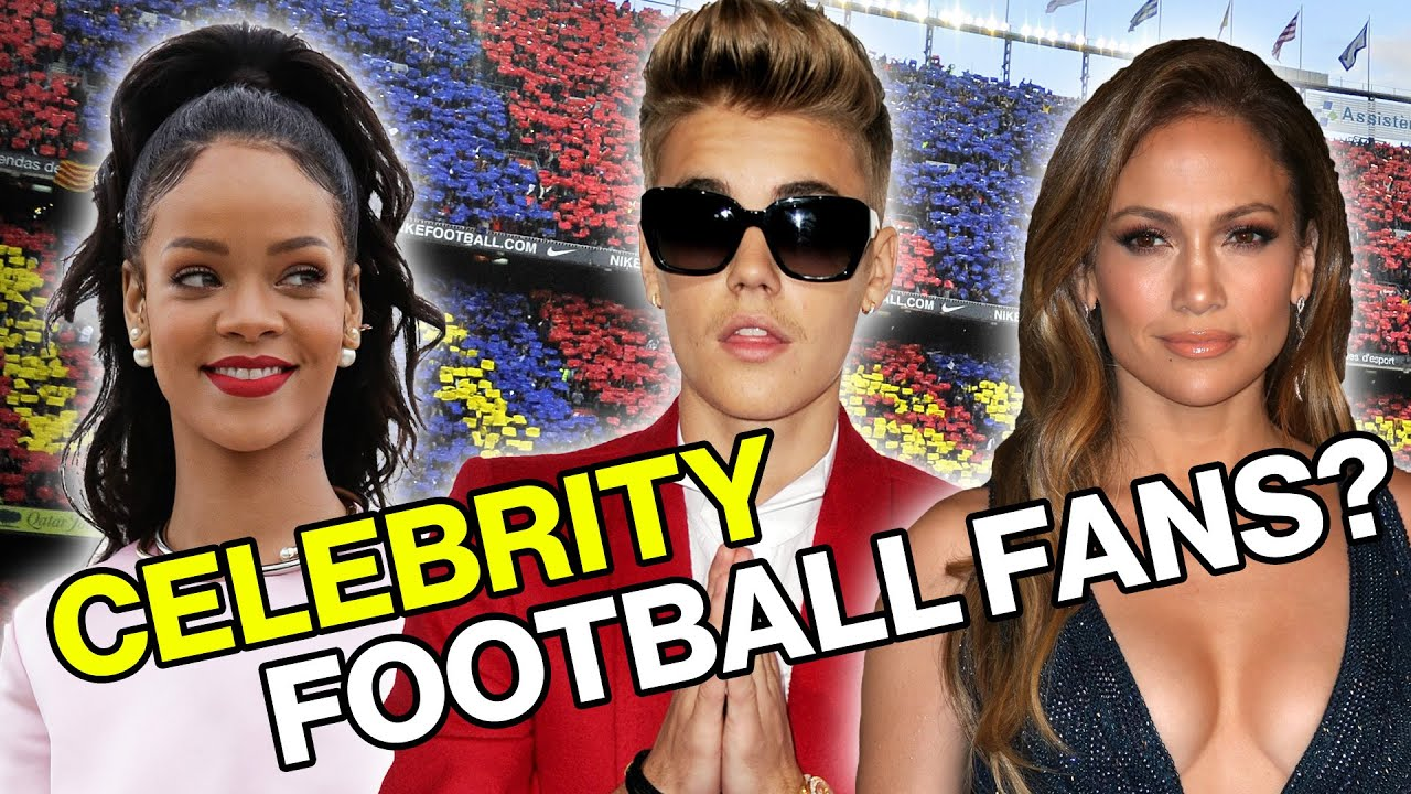 Which Celebrity Fans Support Your Football Team? - YouTube