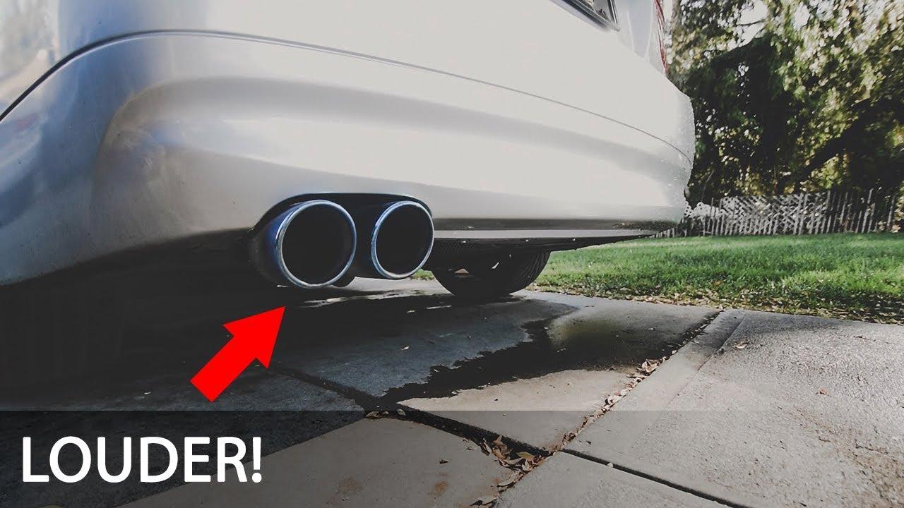 MAKING MY BMW E90 LOUDER!! Y Pipe + Resonator & Muffler Delete