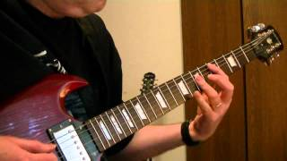 "Warrant ""Cherry Pie"" Rhythm guitar cover."