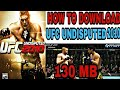[130MB] UFC UNDISPUTED 2010 FOR PPSSPP DIRECT DOWNLOAD 👇👇LINK BELOW!👇👇