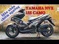 Cận cảnh Yamaha NVX 155 Camo tại đại lý