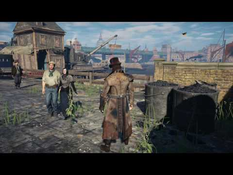 Assassin's Creed Syndicate Free Roaming--The River Thames Pt.1