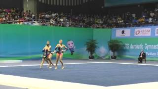 Bentley - Silverman - Stickley - Combined - 2016 World Acrobatic Championships - Qualifying