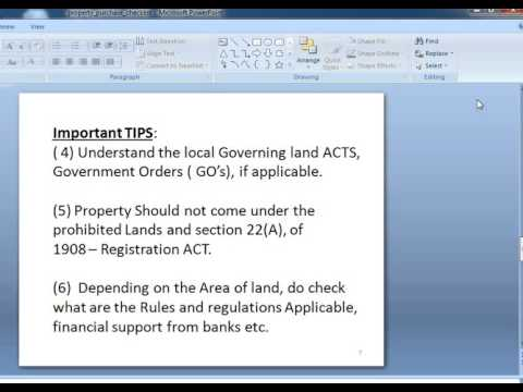 Property Documents, List of Items to Check Before Purchasing a Property or Land,property guide