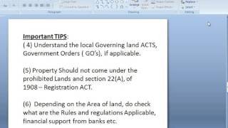 Property Documents, List of Items to Check Before Purchasing a Property or Land,property guide thumbnail