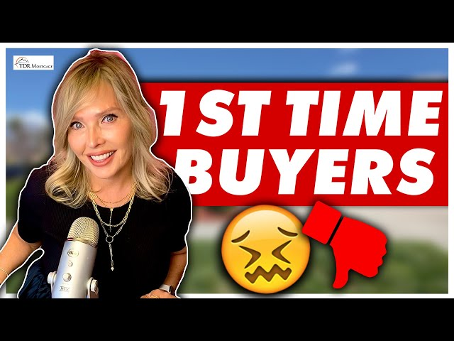 First Time Home Buyers are CANCELED | California Mortgage Broker Explains Why