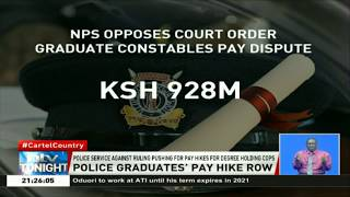 Police Service against pushing for pay hikes for degree holding cops