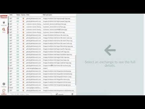 HTTP Toolkit demo