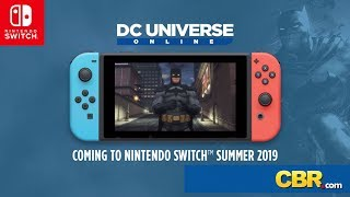YouTube動画:DC Universe Online is Coming to the Nintendo Switch