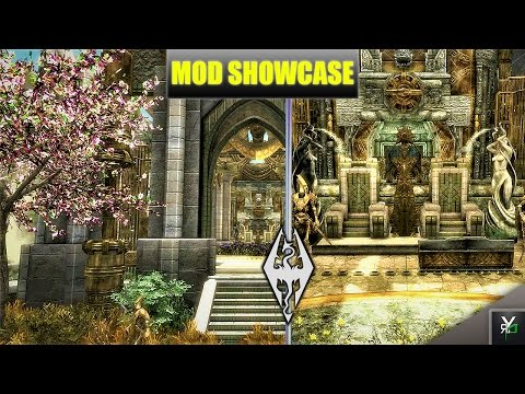 THE GRAND BATH-HOUSE!!- Xbox Modded Skyrim Mod Showcase