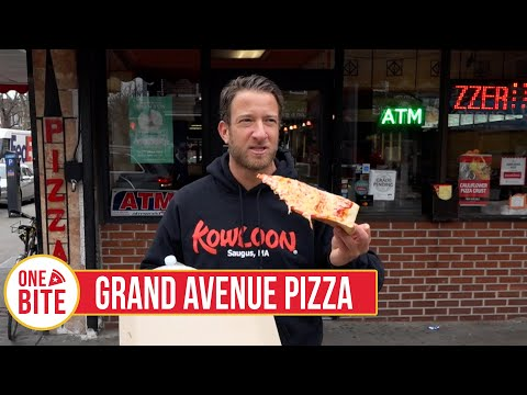 Barstool Pizza Review - Grand Avenue Pizza (Astoria) Presented by Mugsy Jeans