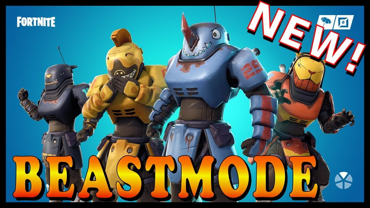 """[VIDEO] - NEW """"BEASTMODE"""" OUTFITS in FORTNITE - NEW """"SPRING-LOADED"""" EMOTE // Playing With SUBSCRIBERS 1"""