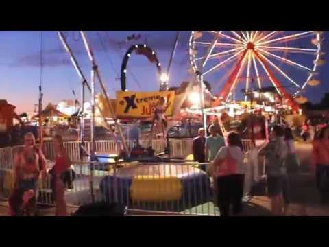 Iowa State Fair full Midway 2012