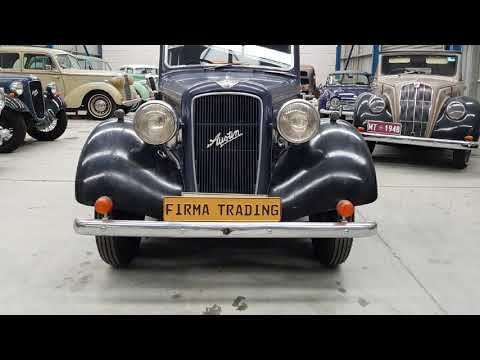1937 Austin 10 Cambridge by Firma Trading Classic Cars Australia