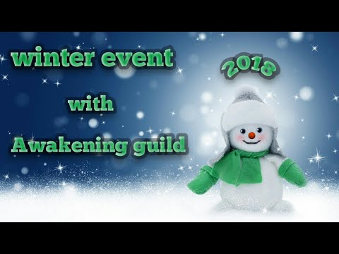 Winter Event 2018 First Look!!