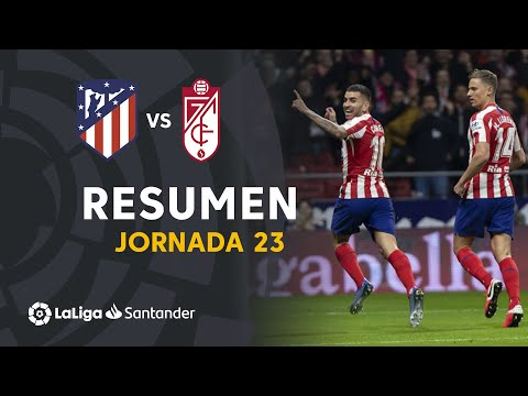 goles del partido atletico de madrid vs barcelona hoy