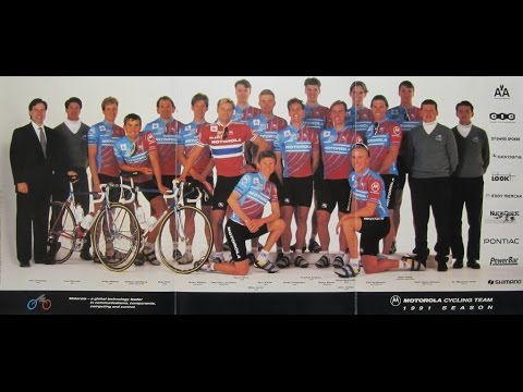 The 1991 Motorola Cycling Team Spring Classics documentary