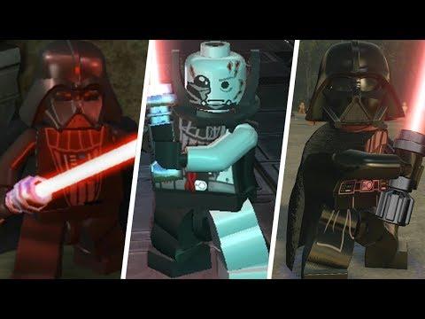 Darth Vader Evolution in LEGO Videogames