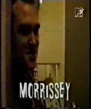 Morrissey - Vauxhall and I signing