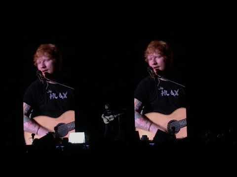 Dive – Ed Sheeran | Live in Singapore 2017