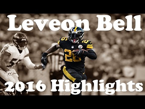 "Leveon Bell Highlights 2016-17 || ""Right Now"" 