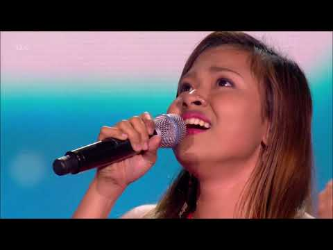 Alisha Bonaobra: The Talented Filipina SMASHES Her Act   6 Chair Challenge   The X Factor UK 2017