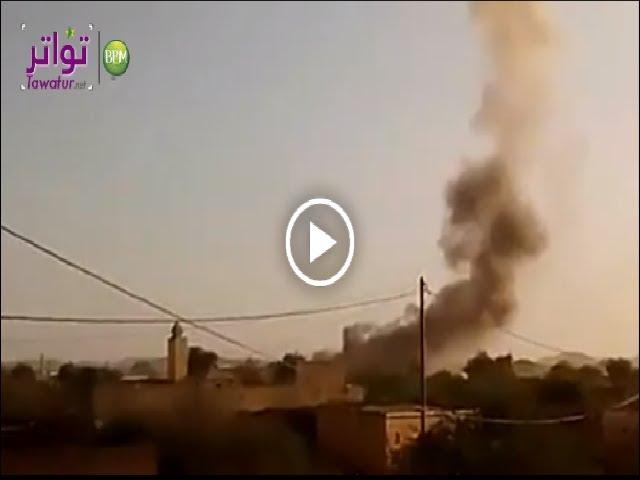 حريق في مخزن للأسلحة داخل ثكنة عسكرية بكيهيدي والجيش يفتح تحقيقا  لتحديد السبب