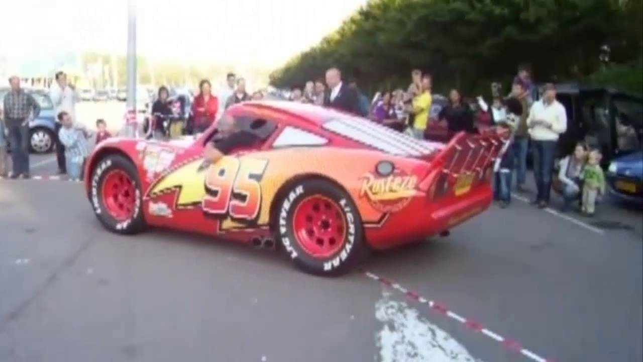 Lightning Mcqueen Real Life Cars 2 Disney Pixar Youtube