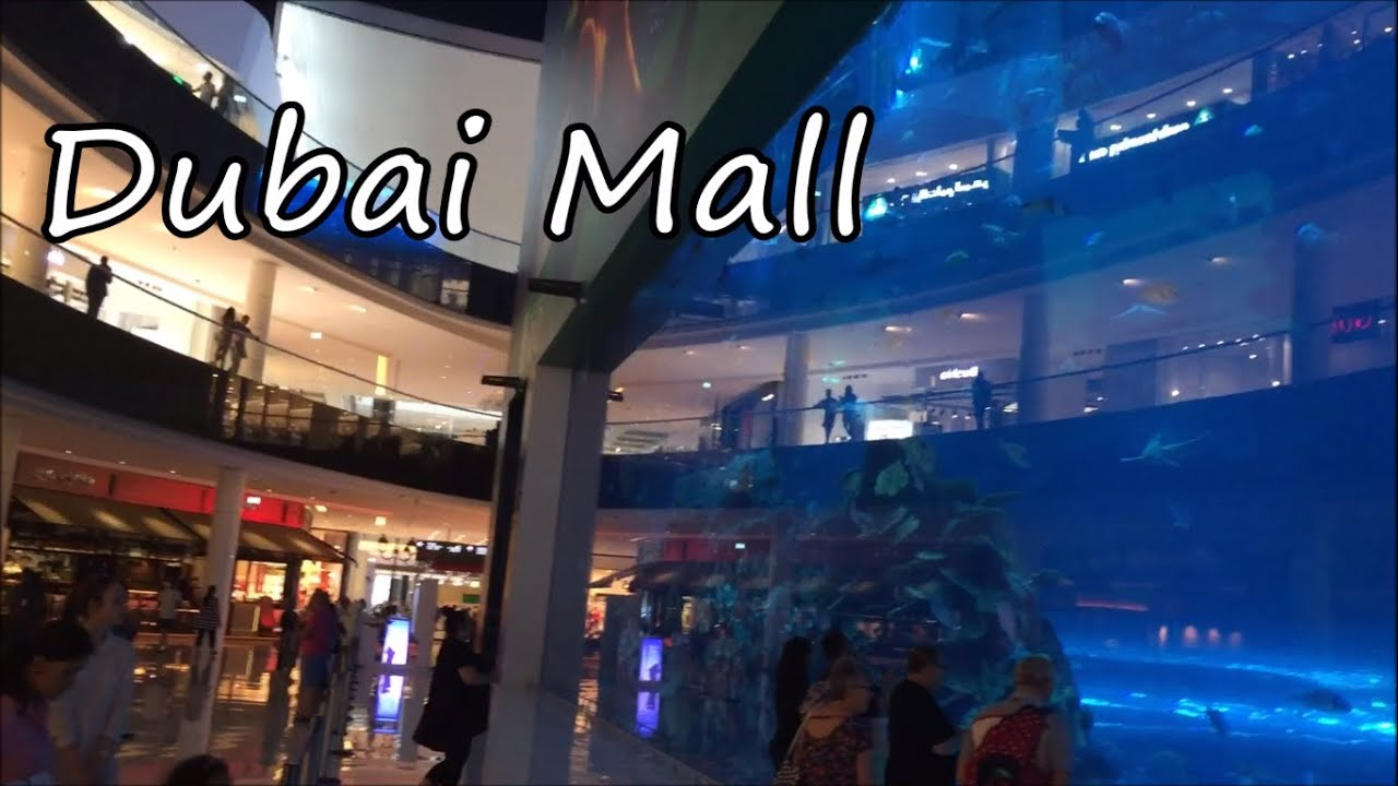 Inside The World S Largest Shopping Mall Dubai Mall Youtube