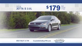 New Jetta S December Sale in Palm Springs, at Coachella Valley Volkswagen
