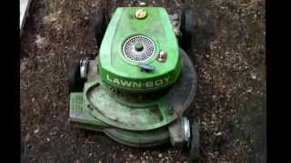 Lawn boy resurrection part 3 the Final test start up
