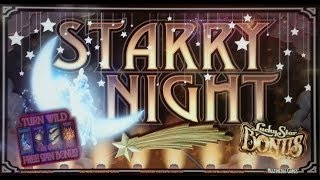 Multimedia Games - Starry Night Slot Bonuses & Line Hit WINS