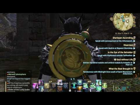 Final Fantasy XIV FFXIV AST Astrologian Ireland Eire Globe Of The Lucky Snake 09.10.16