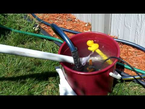 Home made solar water heater.  From 78 - 120+ degrees using only the sun! Part 1