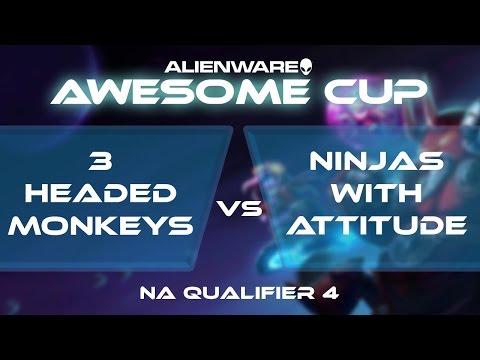 3 Headed Monkeys vs Ninjas With Attitude - AAC2: NA Qualifie