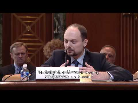 Rubio asks dissident Vladimir Kara-Murza about freedom & protests in Russia