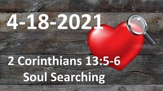 2 Corinthians 13:5-6