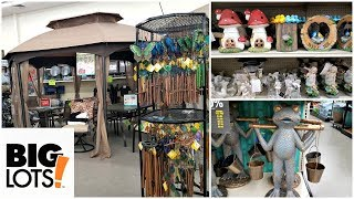 Shop WITH ME BIG LOTS PATIO FURNITURE GARDEN DECOR HOME IDEAS APRIL 2018